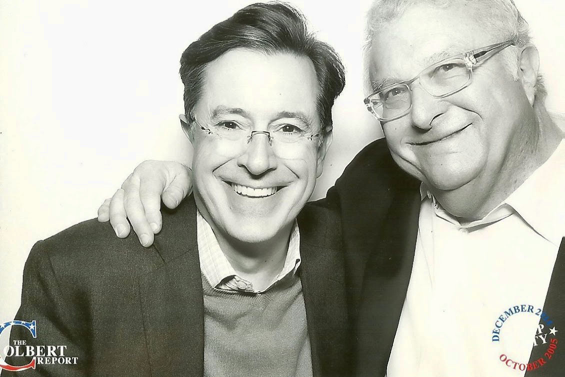 Stephen Colbert and Randy Newman, 2014-12-18