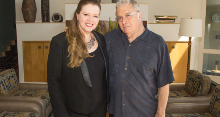 Randy with Erin Collins, Vice President, Film, TV, and Developing Media, SESAC